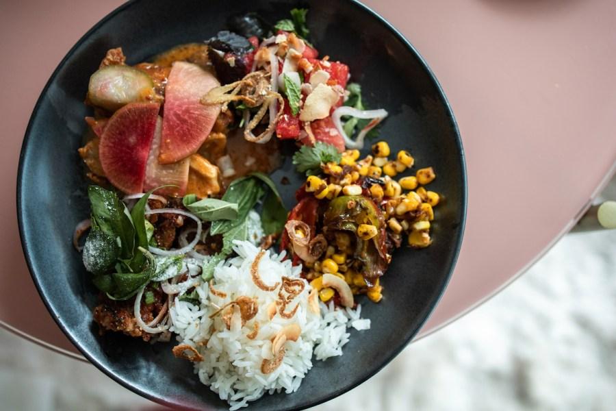 Nari Takeout Dinner, Family Style