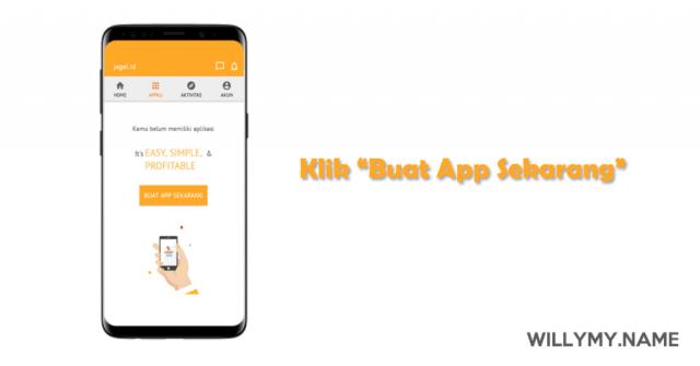 Cara membuat aplikasi android gratis dalam 7 menit (tanpa coding)