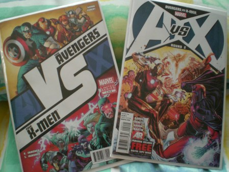 Comics Review: Avengers vs X-men Round 1