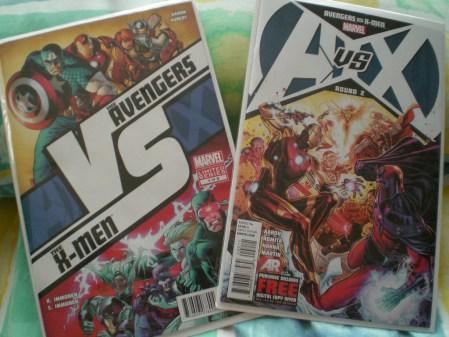 Comics Review: Avengers vs X-men Round 1