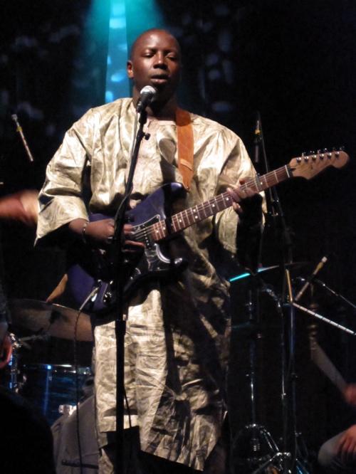 Vieux Farka Touré at NYC's Highline Ballroom. (Copyright 2009, Steven P. Marsh)