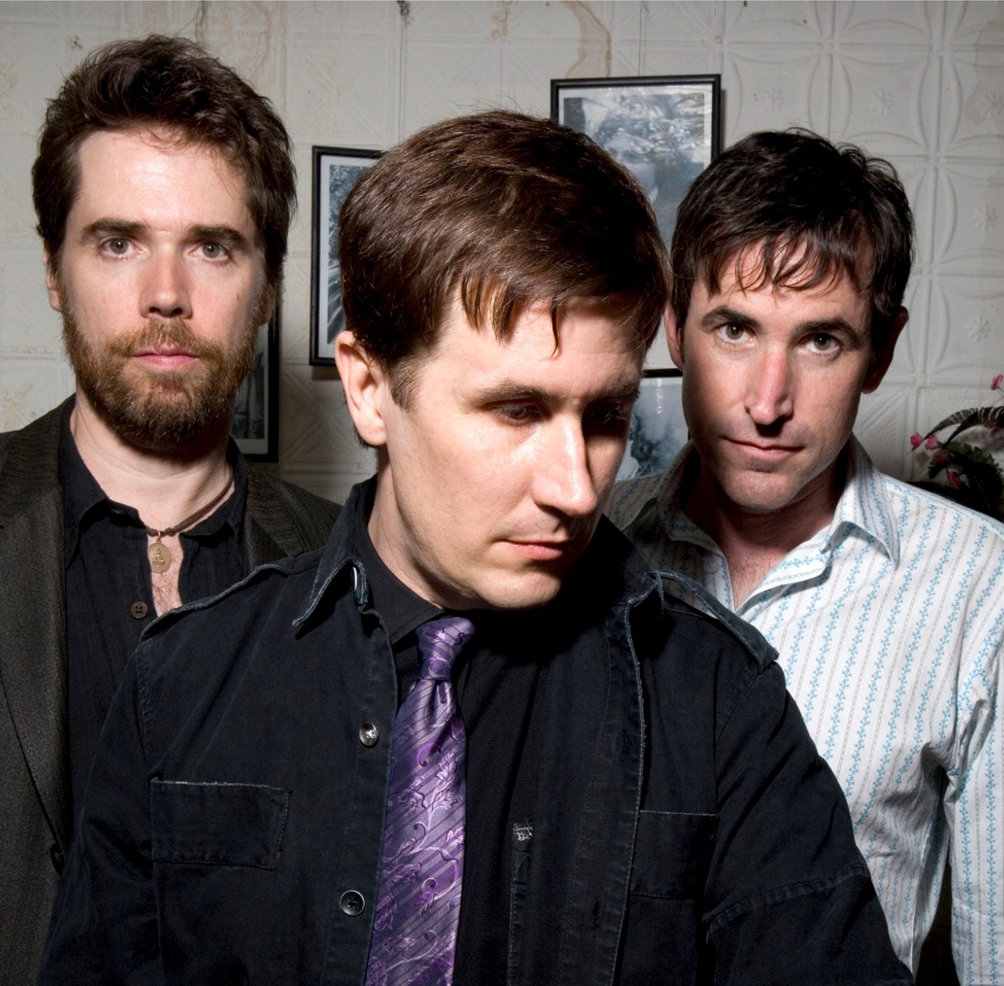 Jon Wurster, John Darnielle and Peter Hughes of The Mountain Goats. (Photo by Chrissy Piper)