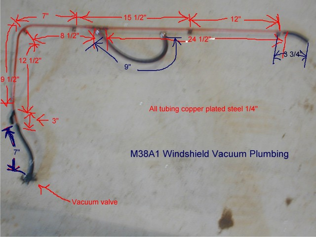 Willys M Jeeps Forums Viewtopic M38a1 Wiper Vacuum Line