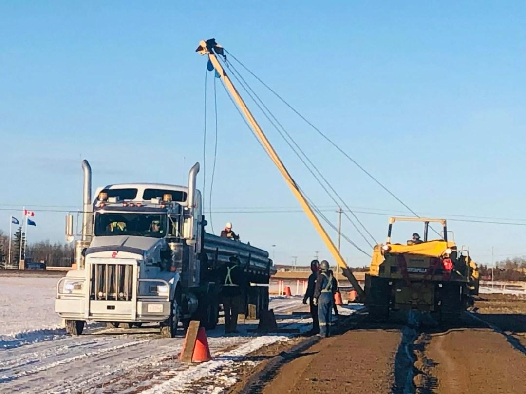 Pipe hauling