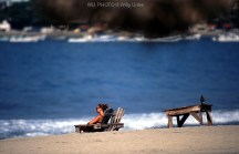 Calma. Playa Zicatela. Puerto Escondido. Oaxaca. México. WU PHOTO © Willy Uribe Archivo fotográfico Reportajes