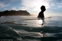 Baño al atardecer. Sopelana. Uribe Kosta. Basque Country. WU PHOTO © Willy Uribe Archivo Fotográfico Reportajes