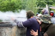 Conflicto minería asturiana. Junio 2012. WU PHOTO © Willy Uribe