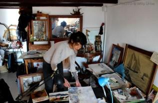 Alexia Sinoble. Estudio. Barcelona. Tengo Sitio Libre. Blog de Willy Uribe