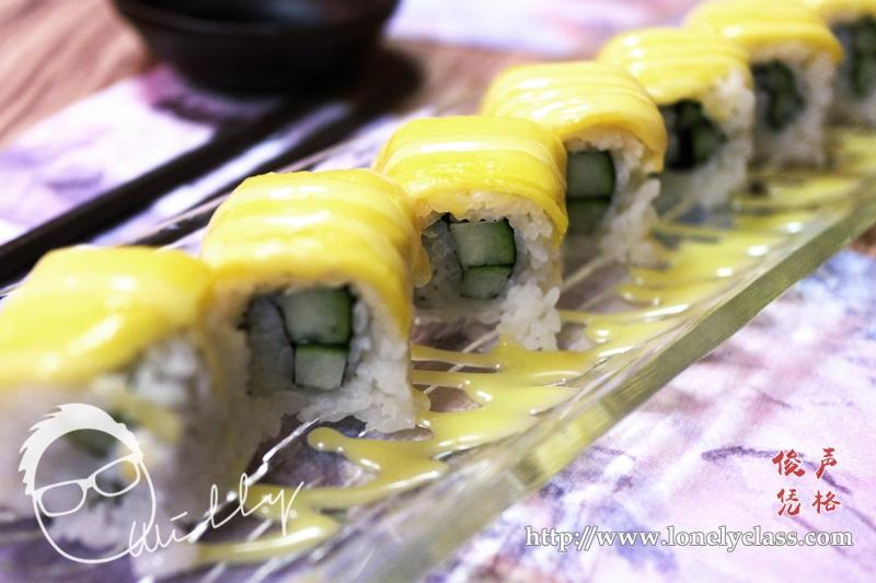 Mango Cucumber Roll