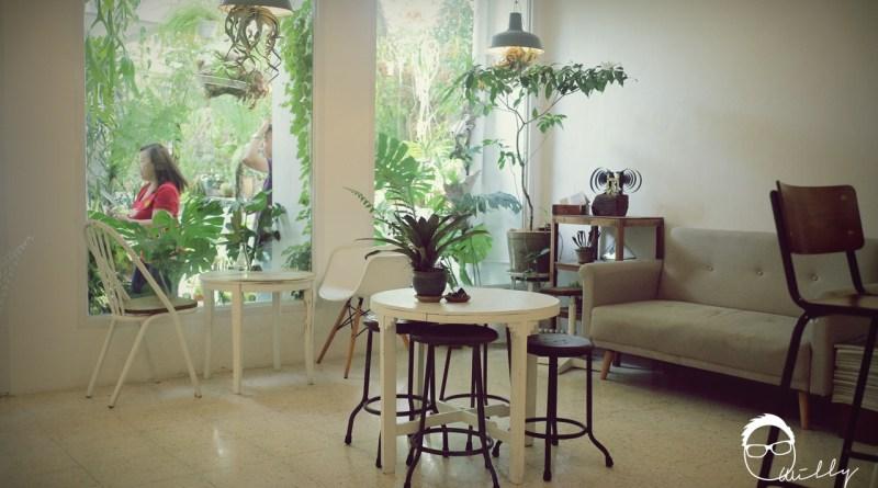 槟城美食: Luna Bar 充满绿意的咖啡馆