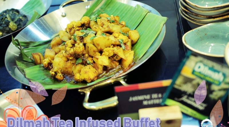 Dilmah tea infused buffet @ Double Tree Penang