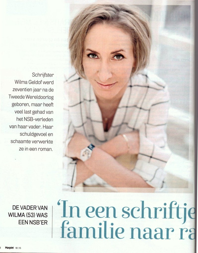 Interview in Margriet – april 2015