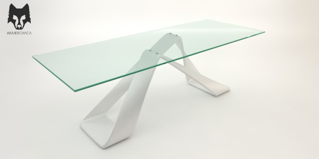 Dining Table: Balance Designer: Wilmer Chaca © All rights reserved