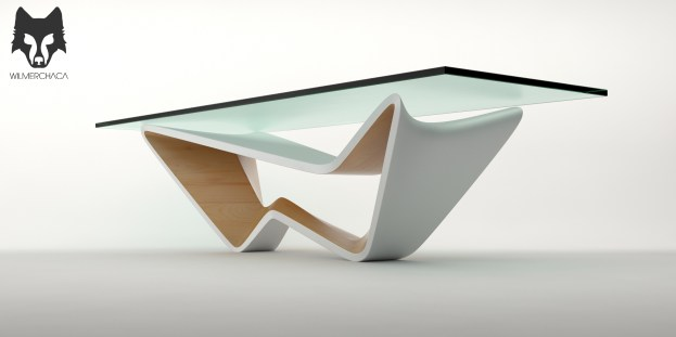 Dining Table: Fluctus Designer: Wilmer Chaca © All rights reserved