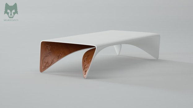 Coffee table: Ballet Designer: Wilmer Chaca © All rights reserved
