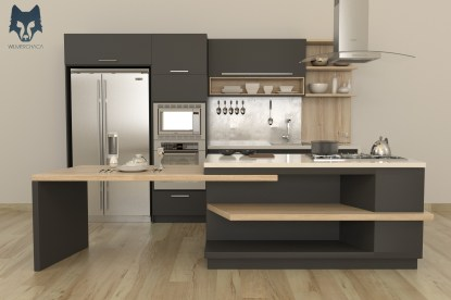 Kitchen: Noctis Designer: Wilmer Chaca © All rights reserved.