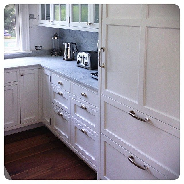 adler hardware install | polished nickel
