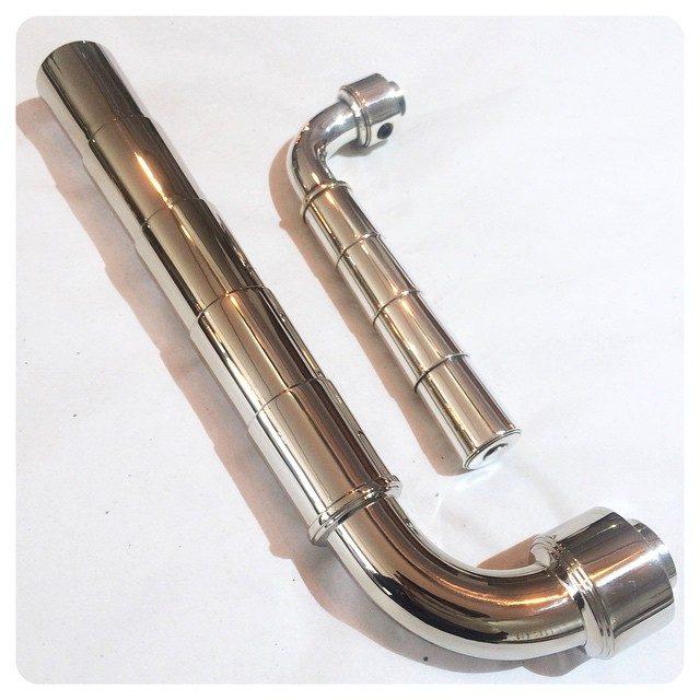 giant custom Waldorf lever alongside it's standard size