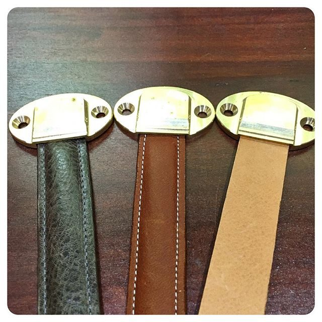 Medford Strap Pull Leather Options | Wilmetteleather.com