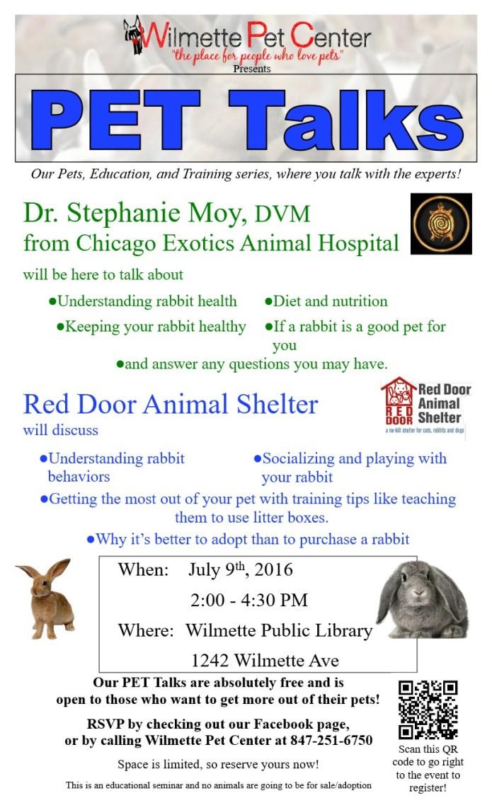 PET Talk poster