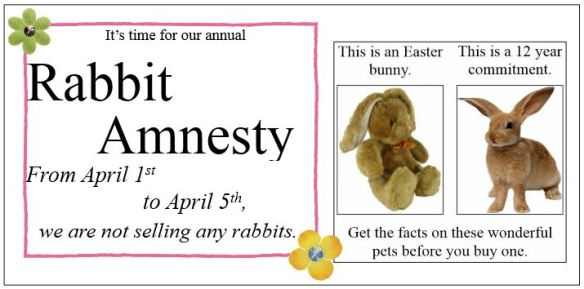 Rabbit amnesty 2015 FB post
