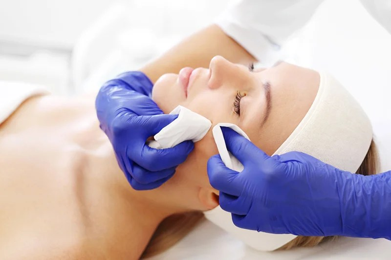 Micropeel Facial Treatment in Wilmington