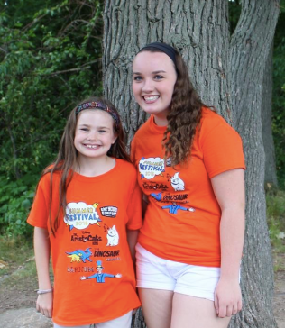 Sophie DeHart (left) will perform in AristoCats Kids, while Maura Sullivan (right) will perform in Barnum.