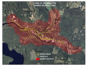 Wilmington Sewer District Map 2014