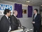 The Chancellor of the Exchequer opens new facilities at Wilmslow Health Centre