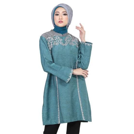 Inficlo Atasan Sarimbit Couple Muslimah Wanita Tosca Cotton SGB 368