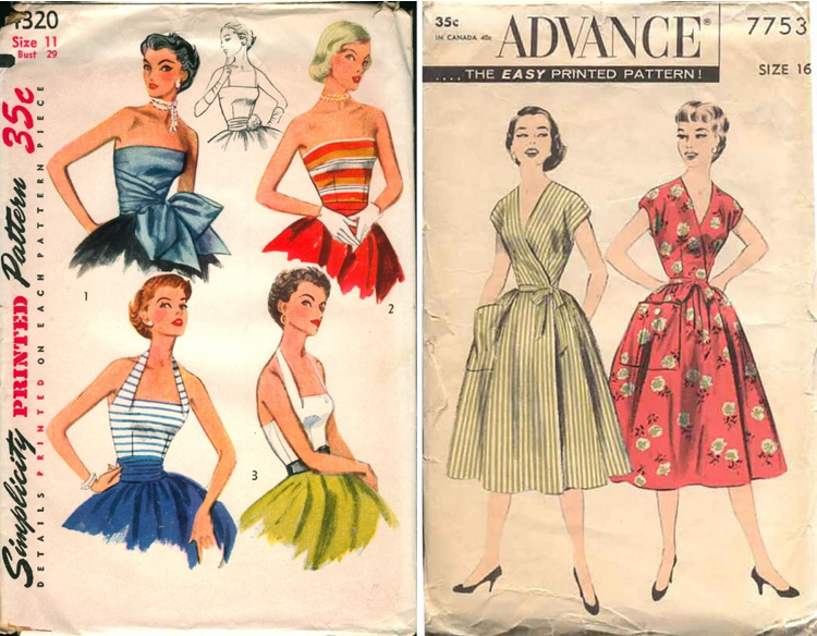 More than 80,000 Vintage Sewing Patterns on Vintage Patterns Wiki ...