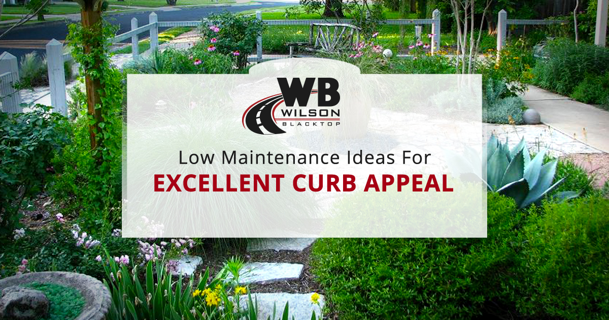 Low Maintenance Landscaping Ideas for Excellent Curb ... on Low Maintenance:cyizg0Gje0G= Backyard Designs  id=60670