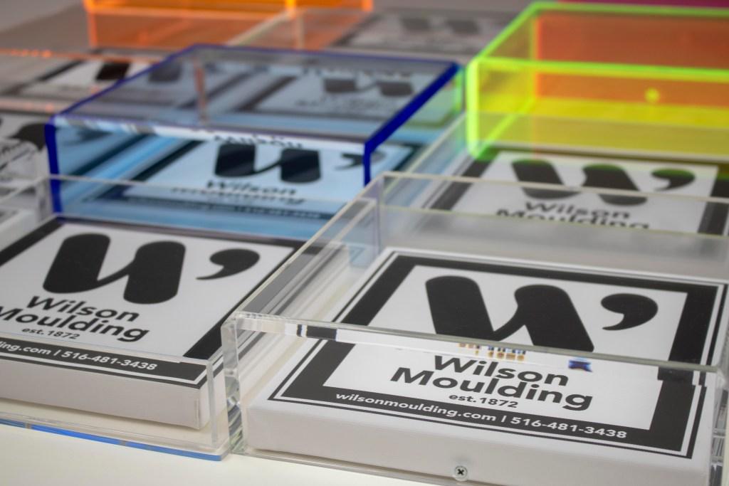 custom acrylic boxes - Wilson Moulding
