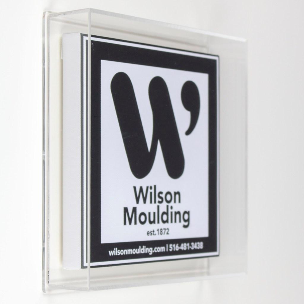 Six Sided Acrylic Box - Wilson Moulding