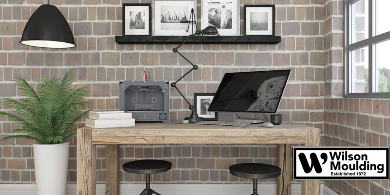 Decorate Your Office Space With Finished Corner Frames!