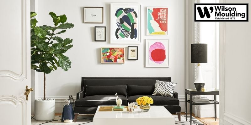6 Cool Ways To Decorate Your Living Room With Picture Frame