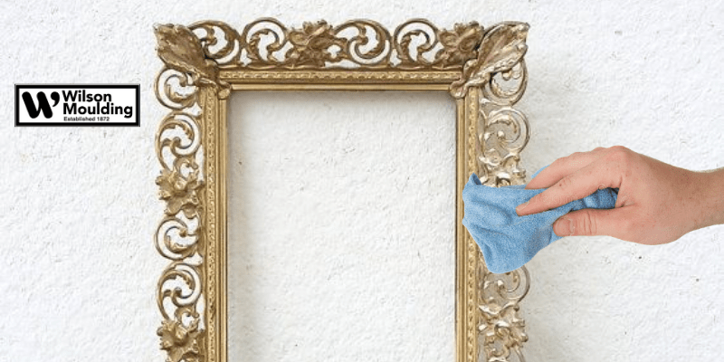 How To Clean An Ornate Metal Frame