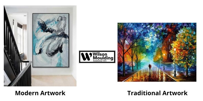 Is Your Artwork Modern Or Traditional_