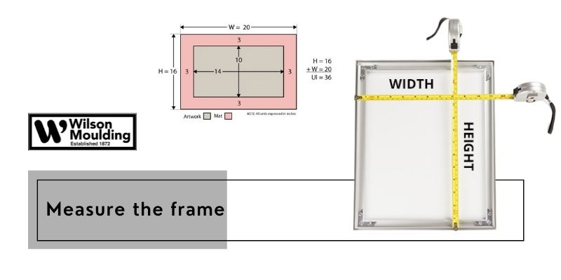 Measure the frame