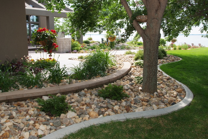 Different Color Rocks Landscaping