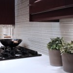 Glass Subway Tile Backsplash Kitchen Wilson Rose Garden