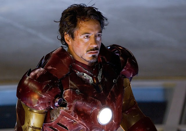 "Robert Downey Jr. als ""Iron Man"" Tony Stark"