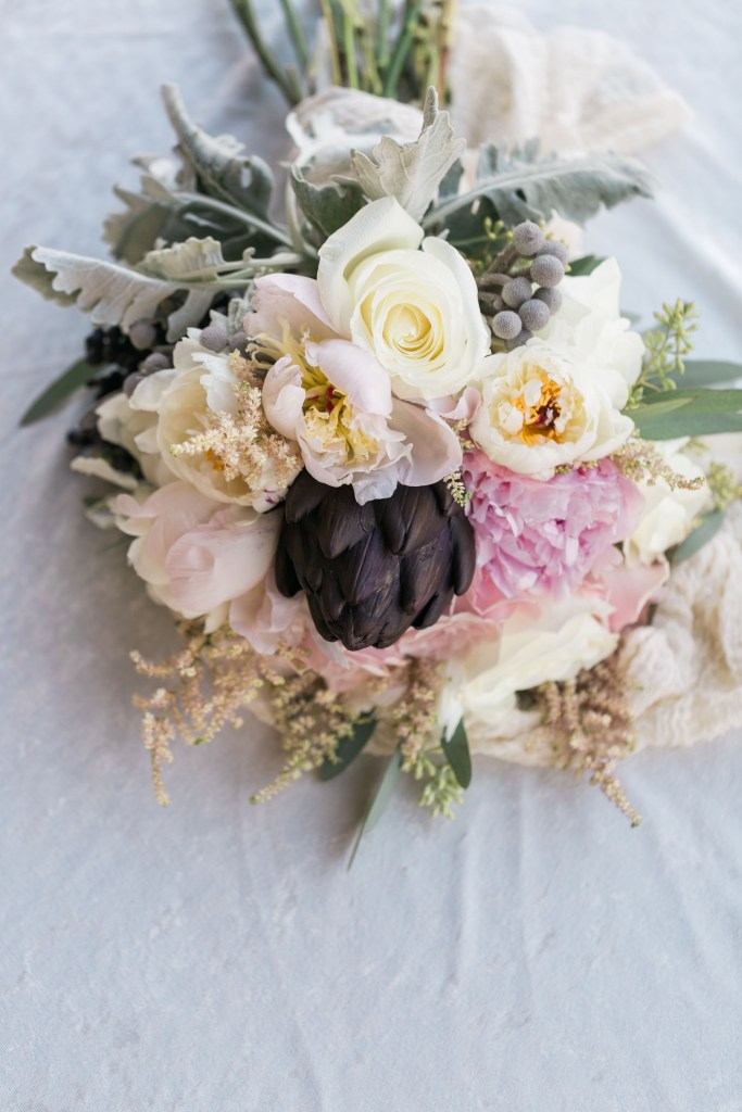 Blush and Plum Artichoke