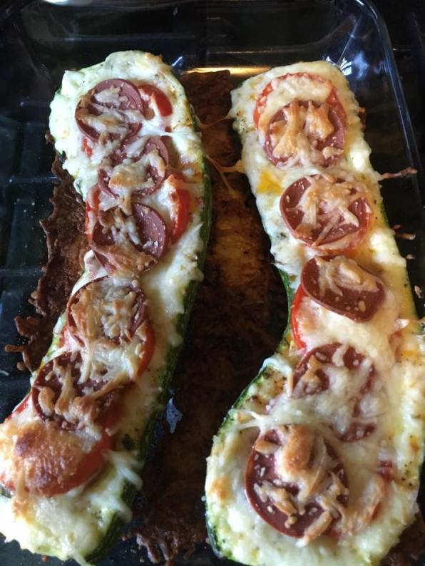 One CSA member sent a picture of what she did with her squash and tomatoes.