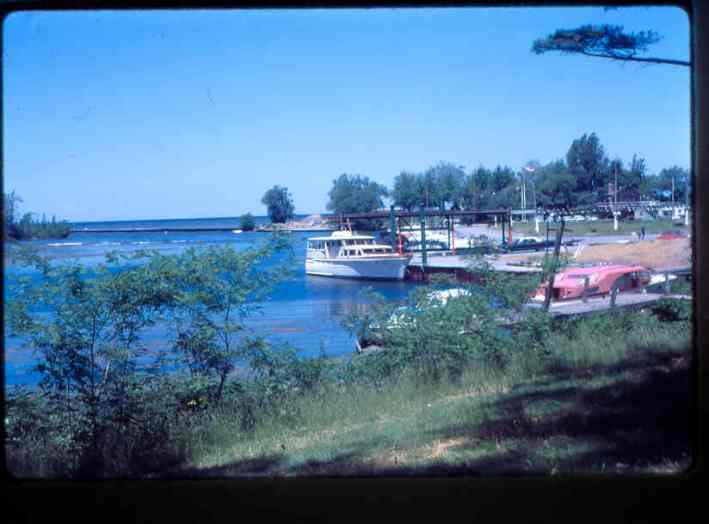 Marland Monroe's boat Niagara