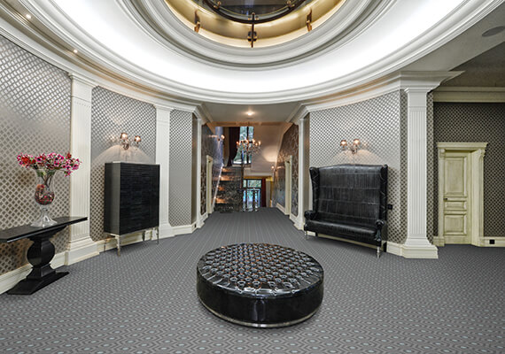 Mansion bespoke carpet collection by Wilton Carpets ideal for London Mansion blocks