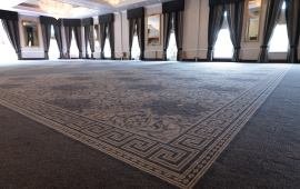 Classical Inspiration from Wilton Carpets at Hardwick Hall