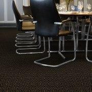 Labyrinth Lozenge form the Wilton Carpets Ready to Go Axminster Range.