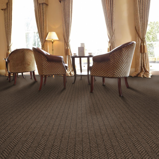 Berwick Norham Herringbone Tufted Carpet from Wilton Carpets