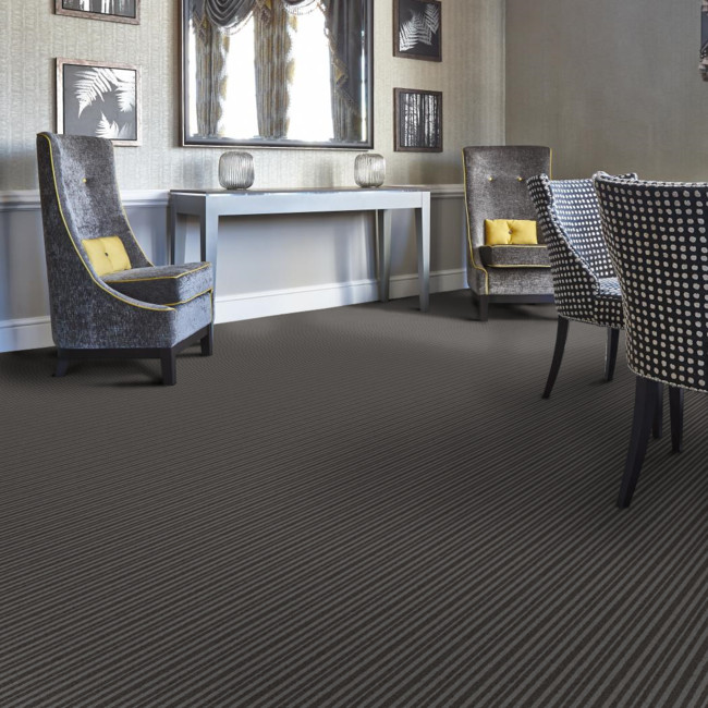 Berwick Horncliffe striped tufted carpet from Wilton Carpets